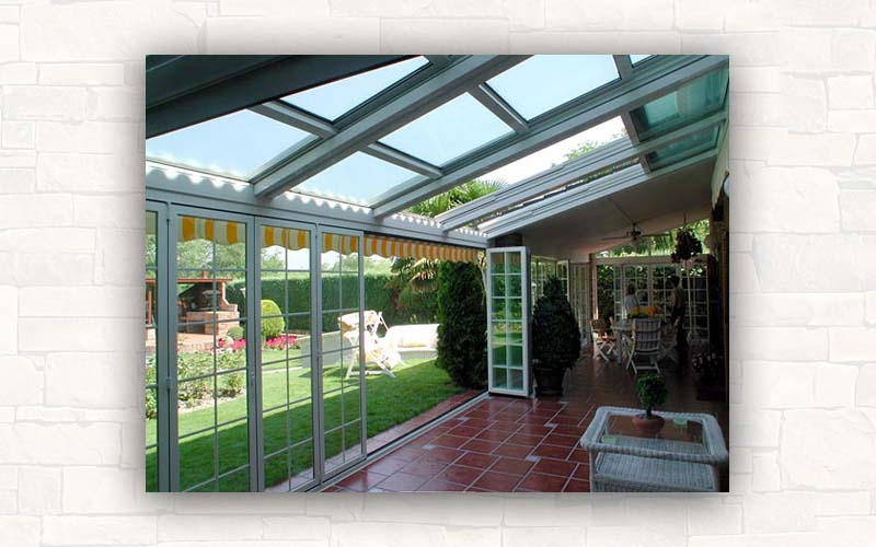 Vidrio repartido for Cerramientos de vidrio para interiores
