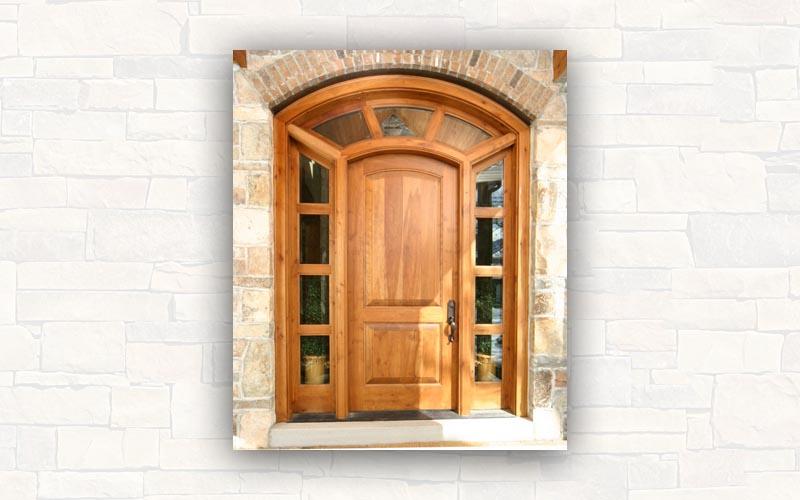 Puerta de madera l puerta lisa en madera de fresno foto reparar una puerta de madera puerta - Marcos de puertas de madera ...