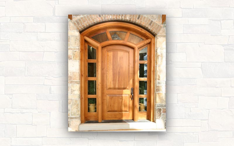 Puerta de madera coleccin de norma puertas puerta de for Reparar puerta madera